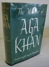 memoirs of aga khan cover