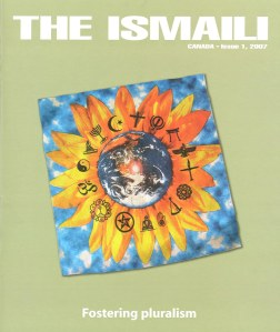 "Is The Ismaili Canada fostering all ""isms"" - the symbols of which are depicted on this cover page are equable like the petals of one flower?"