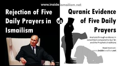 Five Daily Prayers in Qur'ān and the Ismāʿīlī Rejection of Allāh'sCommandment