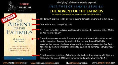 advent of the fatimids poster