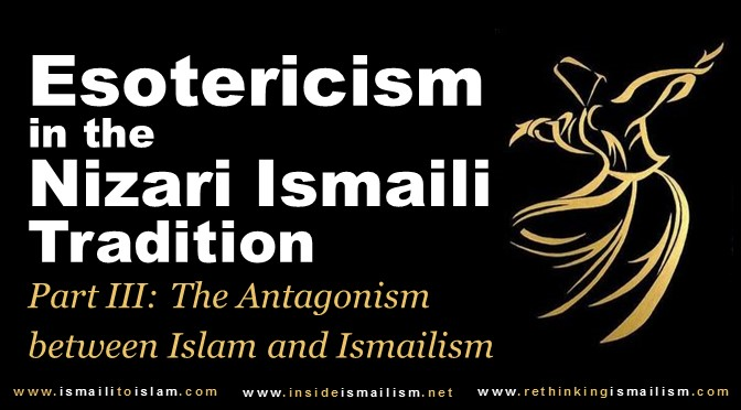 Esoterism in the Ismaili Tradition Part III Cover