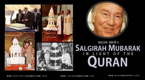 "Hazar Imam's Birthday ""Salgirah Mubarak"" in Light of TheQuran"