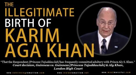 Illegitimate Birth of Prince Karim AgaKhan