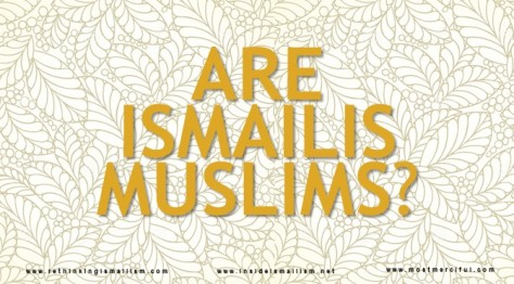 Are Ismailis Muslims Cover