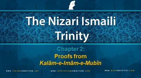 The Nizari Ismaili Trinity, Chapter 2: Proofs from Kalam-e-Imam-e-Mubin