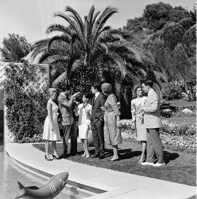 Yakimour Party Evans Evans, Jogn Frankenheimer, Natalie Wood, Warren Beatty, Yvette, 15th CFF