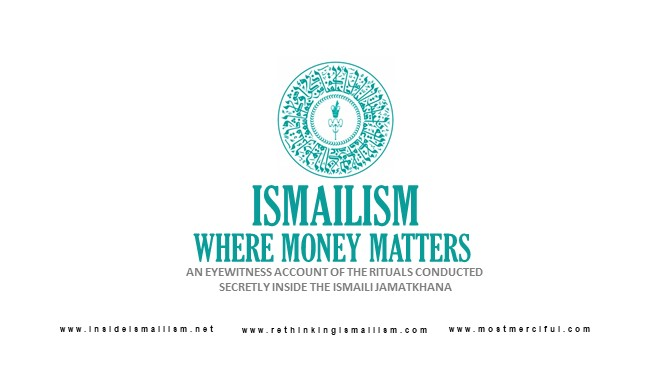 Ismailism: Where Money Matters