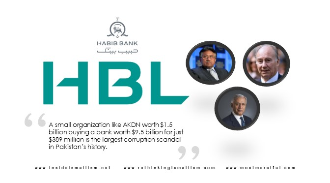 HBL privatization to Aga Khan Fund cost Pakistan $9.1 billion
